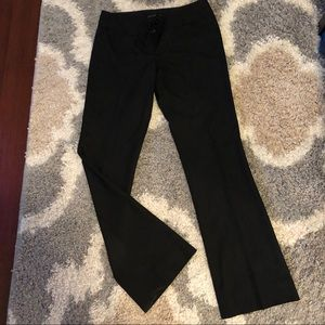 The Limited Drew Fit black work pants 8 Long Tall